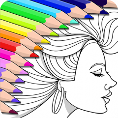 Colorfy Colouring Book For Adults Icon
