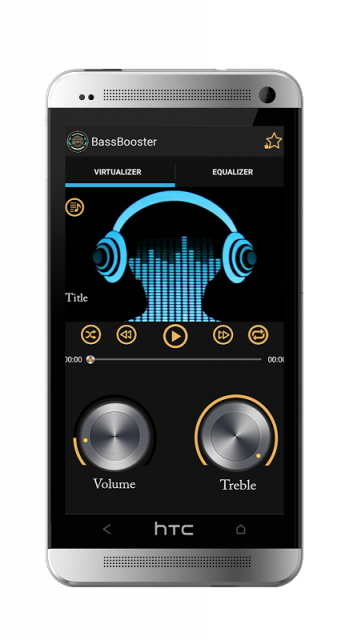 how to use bass booster app