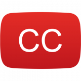ccTube - Closed Caption, language study Icon