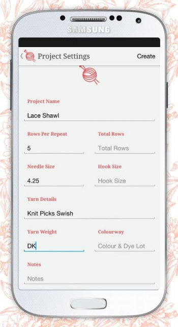 Knitting Row Counter App : Knit tink row counter download apk for android aptoide