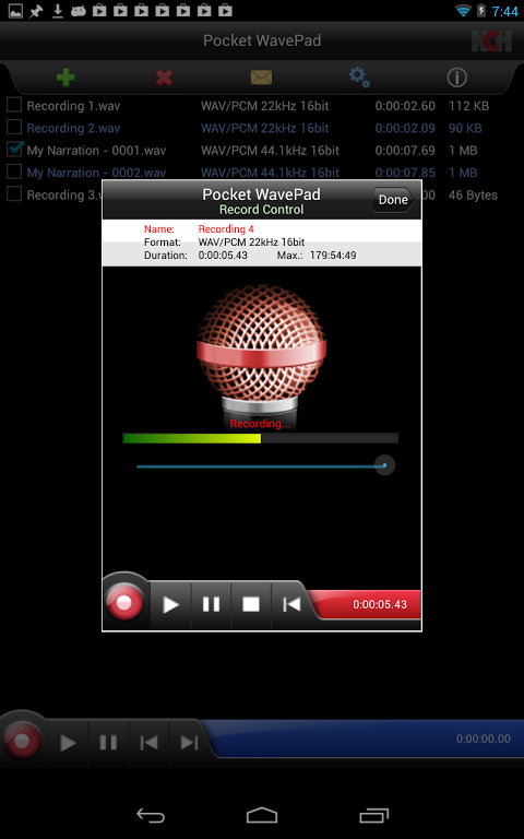 wavepad sound editor in italiano