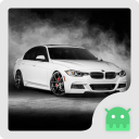 White BMW Theme