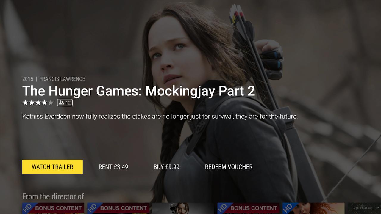 Rakuten TV - Movies & TV Series (Android & Android TV) screenshot 2