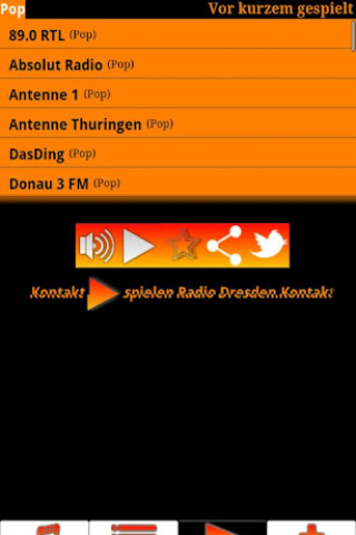 German Radio LIVE Screenshot