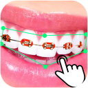 Braces Booth Stickers photo editor 2018