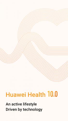 Huawei Health screenshot 1