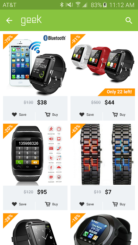 Geek - Smarter Shopping screenshot 1