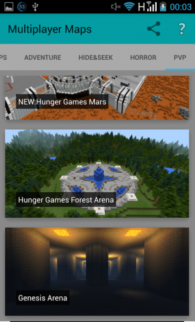 Multiplayer Maps for Minecraft 1 3 Download APK for Android