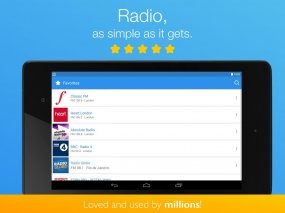 Simple Radio by Streema Screenshot