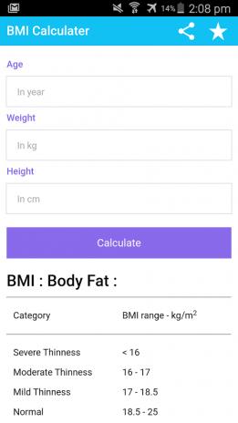 BMI Calculator and Weight Loss 0 0 8 Muat turun APK untuk