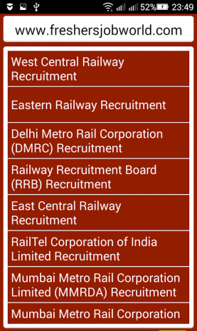 Railway Jobs - India 1 1 Download APK for Android - Aptoide