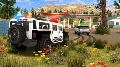 Police Drift Car Driving Simulator v 1.1 (Mod Money) 1