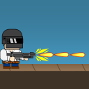 Metal Fire: Retro Action 2D Shooter Game