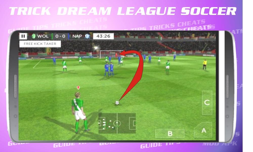 Cheats for Dream League Soccer 2017 screenshot 2