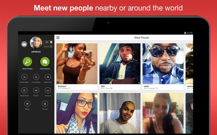 chat rooms to meet people