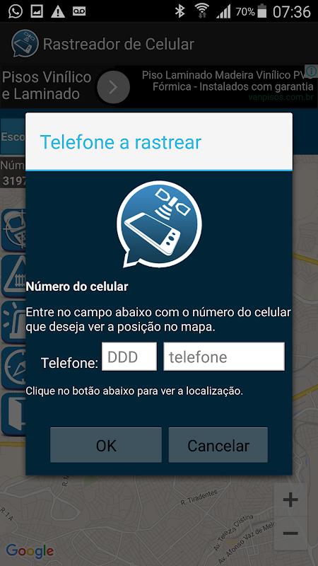 Rastrear Celular Pelo Número . screenshot 1