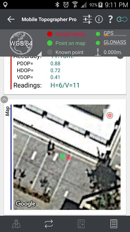 mobile topographer pro gratuit