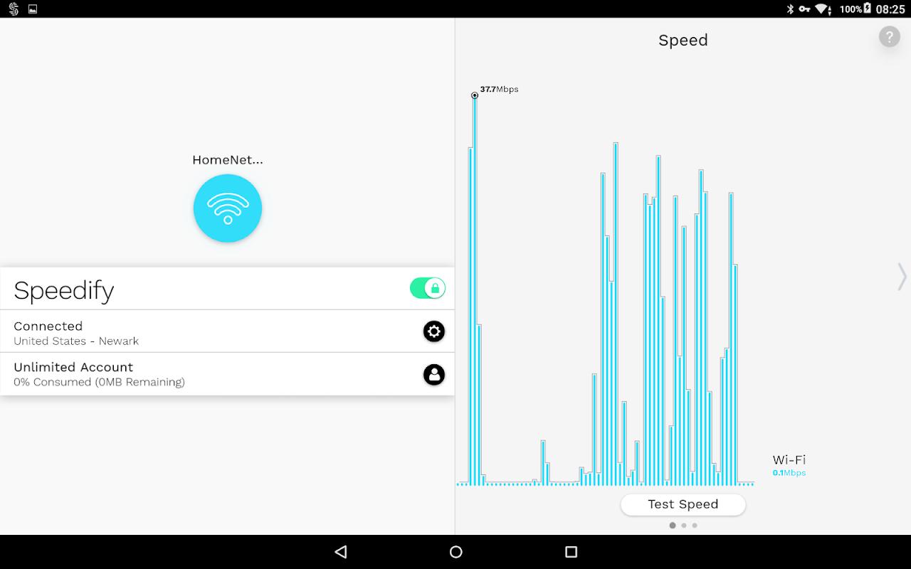 Speedify - Fast & Reliable VPN screenshot 1