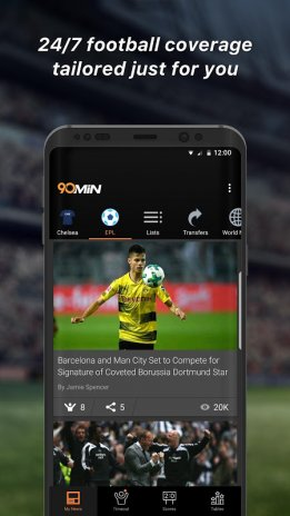 90min - The Football News App 7 0 0 Download APK for Android