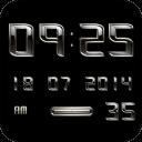 AMETAL Digital Clock Widget
