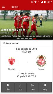 Deportivo Toluca FC screenshot 1