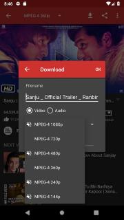 Videoder Video Downloader screenshot 4