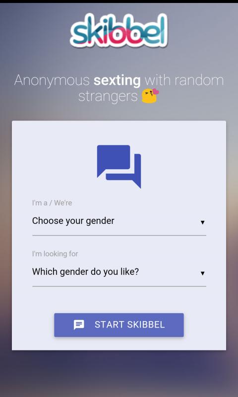Random sexting app