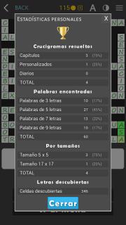 Crosswords - Spanish version (Crucigramas) screenshot 16