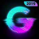 Glitch Foto Editor -VHS, efeito, vaporwave