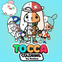 Tocca life Coloring by number