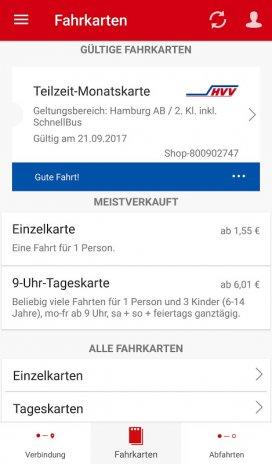 Hvv Karte Ab.Hvv Hamburg Mit Bus Und Bahn 4 2 2 37 Laden Sie Apk Für Android