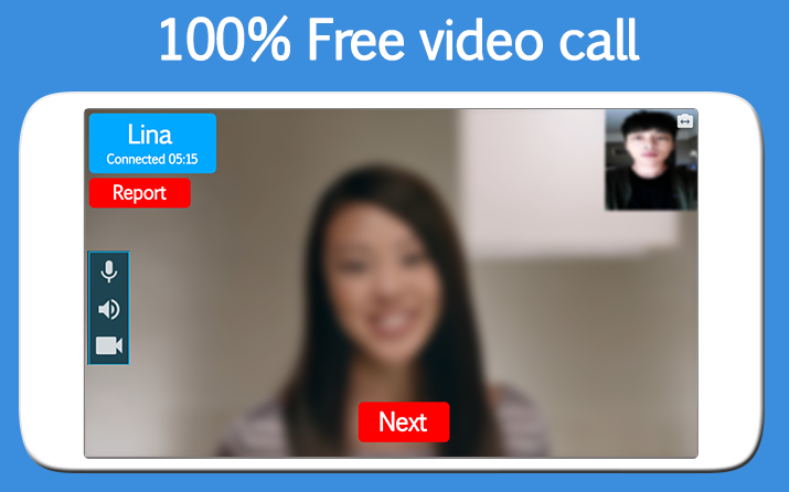 random video chat app for android