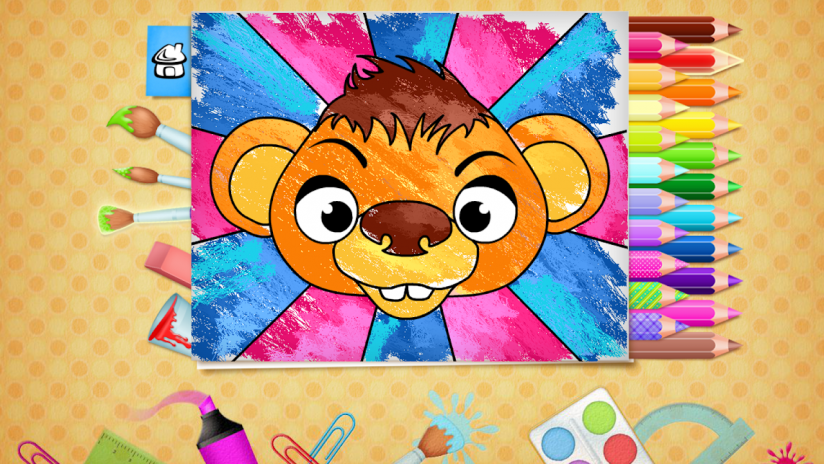 123 Kids Fun Coloring Book Screenshot 1