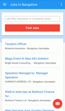 Jobs in Bangalore, India 10 0 0 Download APK for Android
