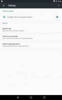 Google Text-to-speech Screenshot