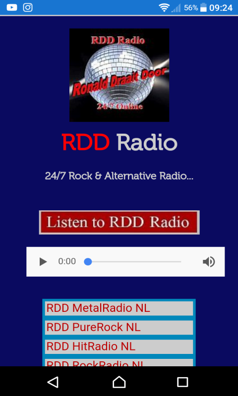 RDD Radio All in One  V2 screenshot 1