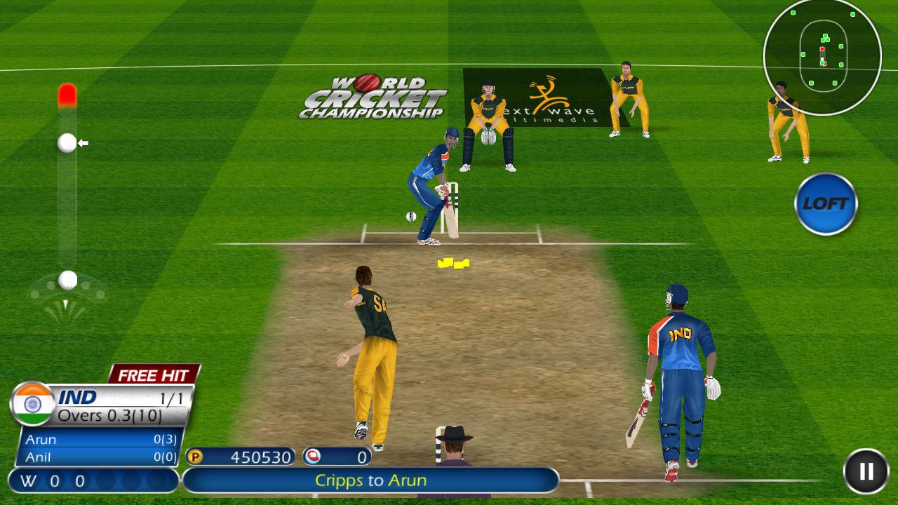 World Cricket Championship  Lt screenshot 2