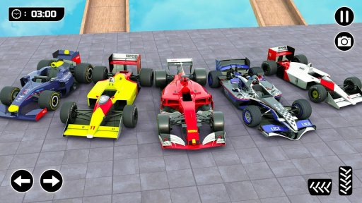 Mega Ramp Formula Car Stunts - New Racing Games screenshot 4