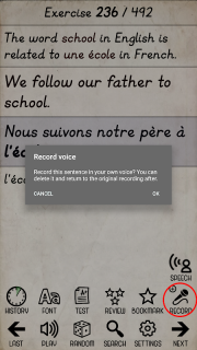 Learn French from scratch screenshot 7