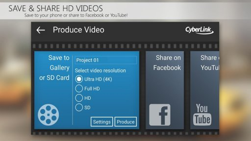PowerDirector Video Editor App: 4K, Slow Mo & More screenshot 6