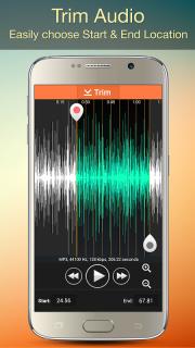 Audio MP3 Cutter Mix Converter screenshot 5