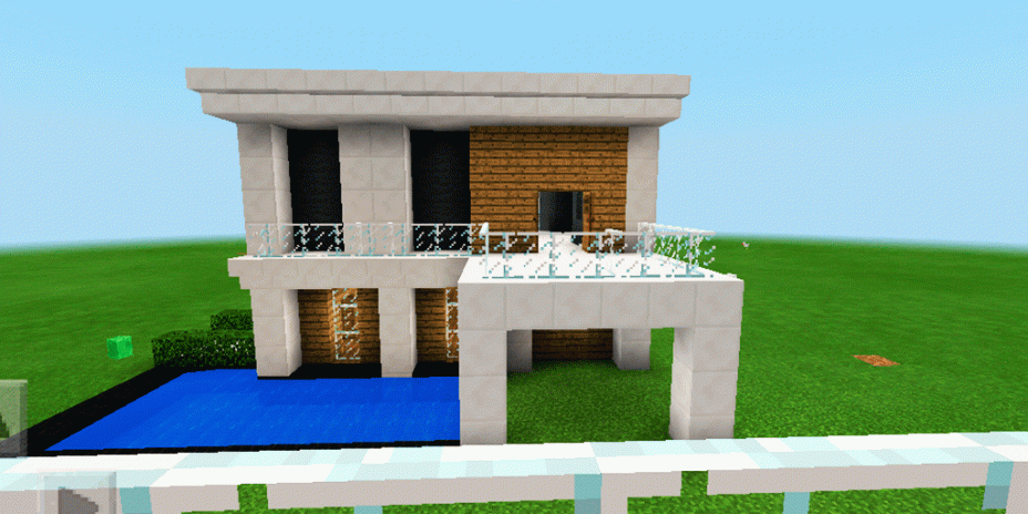 Three Modern Houses Map For MCPE Download APK For Android - Minecraft moderne hauser download
