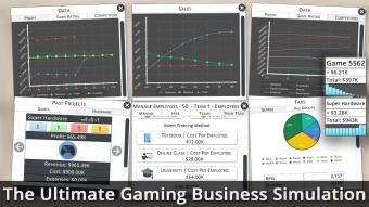 Game Studio Tycoon 3 Lite Screenshot