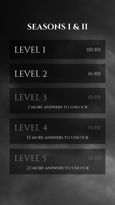 Quiz Game of Thrones screenshot 2