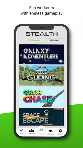 Stealth Fitness screenshot 2