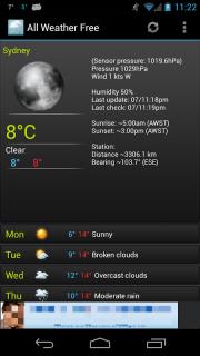 All Weather screenshot 2