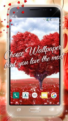 Valentine S Day Live Wallpaper Love Background 2 8 Download Apk
