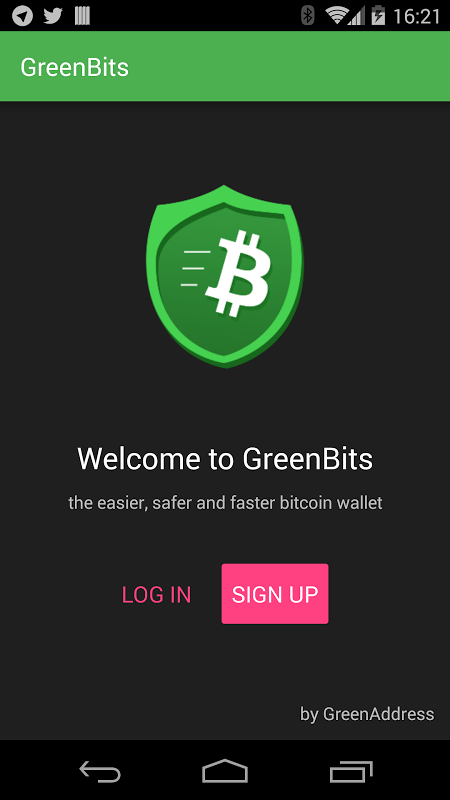 GreenBits Bitcoin Wallet screenshot 11