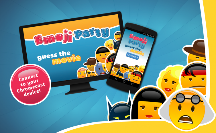 Emoji party for Chromecast 1 2 4 Download APK for Android