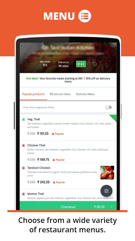 foodpanda: Fastest food delivery, amazing offers screenshot 4